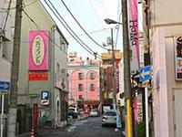 栄町の風景