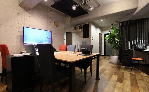 柳川のオフィス
